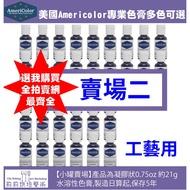 Americolor美國高濃度專業色膏【賣場二】教學工藝用全66色-小罐21g
