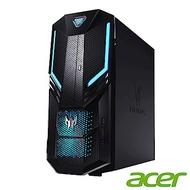 Acer Orion 3000 i7六核雙碟獨顯電競桌上型電腦(i7-8700/GTX 1070/16G/1T/128G/Win10h/Predator)