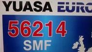 § 99電池 § 湯淺 FOCUS汽油 56214SMF YUASA 汽車電瓶 55566 56220加強 62ah