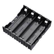 10 stk 4 Slots 18650 Batteri Holder Plastveske Lagringsboks til 4 * 3,7 V 18650 Lithium Batteri med 8Pin