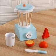 เด็กจำลองไม้เครื่องทำขนมปังกาแฟที่ทำแพนเค้ก Maker ผสมผสมครัวหญิงบ้านของเล่นของเล่นเพื่อการศึกษา