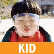 ALX BORONG [READY STOCK] Reusable Full Face Shield Mask Anti-fogging Large protective mask acrylic full faceshield 防雾防飞沫面罩