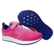 Shoestw【YAARICP3】NEW BALANCE FRESH FOAM中童鞋 運動鞋 黏帶 針織 桃粉藍