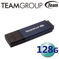 Team 十銓 128GB C211 USB3.2 隨身碟 紳士碟 鋁合金 LED指示燈