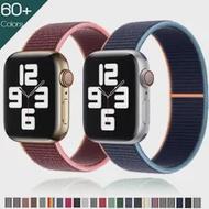 ไนลอนสำหรับ Apple Watch Band 44มม.40มม.42มม.38มม.เข็มขัดกีฬาสร้อยข้อมือ Smartwatch series 34 5 SE 6อุปกรณ์เสริม