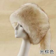 毛帽小臉效果俄羅斯冬季帶尾款
