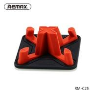 【现货】Remax睿量車載手機支架車用防滑墊導航車內充電手機架車上汽車用支撐架迷你桌面硅膠創意通用型中控儀表臺