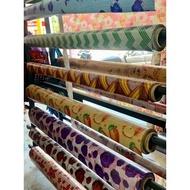 [Shop Malaysia] TIKAR GETAH ALAS MEJA PVC WATERPROOF (0.4mm)
