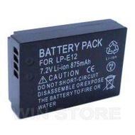 Camera battery LP-E12 for Canon EOS M M2 M10 100D(black)