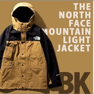 The North Face 19aw Mountain Light BK NP11834 卡其