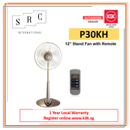 """KDK P30KH Stand Fan 12"""" With Remote"""