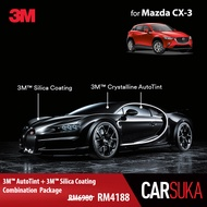 [3M SUV Gold Package] 3M Autofilm Tint and 3M Silica Glass Coating for Mazda CX-3, year 2015 - Present (Deposit Only)