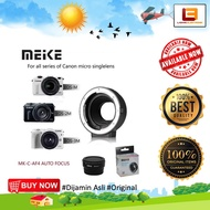 Meike Mount Adapter Canon EF to EOS M MK-C-AF4 For Canon EOS M100 EOS M50