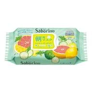 BCL Saborino薄荷葡萄柚早安面膜 油性肌膚可以使用《SUPER SALE 樂天雙12購物節》