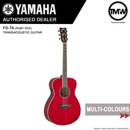PRE-ORDER (Dec/Jan) Yamaha FS-TA TransAcoustic Guitar - FSTA Concert body - FS TA Solid spruce top Trans Acoustic Mahogany back & sides - Absolute Piano - The Music Works Store GA1