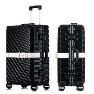 "20 ""24"" 26 ""29''Aluminum กระเป๋าเดินทาง PC SHELL รถเข็นกระเป๋าเดินทางโลหะ Drawbar Rolling กระเป๋าเดินทางกระเป๋าถือกระเป๋..."