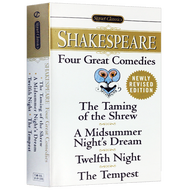 【READY STOCK】Original Popular Books Shakespeare Four Great Comedies Books for Young Adults Novel