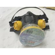 台灣製 單口型防毒面具 防毒面罩 檢驗合格品質優良 活性碳藥罐式 歐堡牌 SD-502 單罐 重型單口濾罐口罩