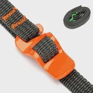 200ซม.ยาว EDC เกียร์กลางแจ้ง Tie ลงสายรัดอุปกรณ์เสริมกระเป๋าเป้สะพายหลังสัมภาระกระเป๋าเดินทางกร...