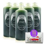南法香頌歐巴拉朵 特級橄欖油沐浴乳6瓶特惠組贈3包試用包(1L/瓶;贈品隨機出貨)