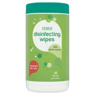 Tesco Disinfecting Wipes 35 Sheets