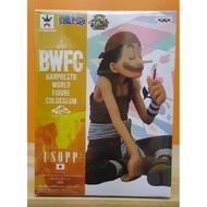 【海賊王 BWFC系列】騙人布 USOPP A款一般色 盤坐聞小花造形 日空版金證 小希