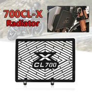 For CFMOTO 700CL-X CLX700 CLX 700 700CLX Motorcycle Accessories Water Tank Net Radiator Grille Cover Guard Stainless Steel Protection Protetor Net