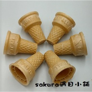 Wafer Spoiled Ice Cream Biscuits And Waffle