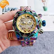 夏季装饰手表2020INVICTA幻彩小丑英弗它石英男士合金殼手錶
