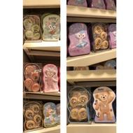 雪莉玫 達菲熊 史黛拉 畫家貓 Cookie 餅乾盒 零食 伴手禮 禮盒 ,WOW迪家 香港迪士尼代購
