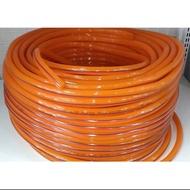 現貨 4分7水管/橘色(一般水龍頭用)(以台呎計算1台呎=30cm)彈力水管 塑膠水管 橘色水管 PVC水管(零售)