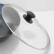 阿媽牌生鐵鍋 【36cm強化玻璃蓋】$550不含鍋子