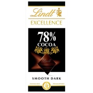 【Lindt 瑞士蓮】Lindt 瑞士蓮 極醇系列78%巧克力片 100g(黑巧克力)