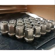 64鈦-鈦合金鋁圈螺絲/原色/M12*1.5