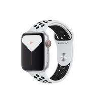 Apple Watch Series 5 LTE 44mm Nike+銀鋁/白黑運動MX3E2TA/A