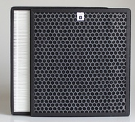 Replacement filter AC4002 4012 Philips air purifier HEPA filter activated carbon AC4123 + AC4124