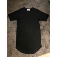 [二手美品] Monkey time Longline 重磅數 黑色素T恤 購於台北united arrows