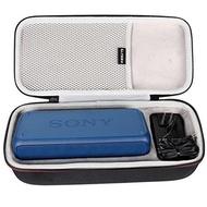 【美國代購-現貨】LTGEM EVA硬殼旅行便攜收納袋 適用於Sony SRS-XB30 便攜盒 可收USB線和充電器