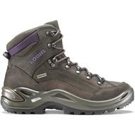 【LOWA】RENEGADE GT防水透氣 中筒登山鞋 棕/紫 女款 LW320945
