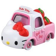 大賀屋 日貨 HELLO KITTY 貨車 蘋果 Tomica 多美小汽車 合金車 玩具車 正版 L00011280