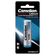 Camelion - 鋰離子電池 ICR18650F-22-BP (平頭) (2.200mAh)