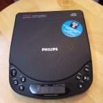 PHILIPS CD AZ6847/01 DISCMAN WALKMAN CD PLAYER 全正常