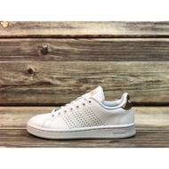 ADIDAS ADVANTAGE 休閒鞋 板鞋 白 玫瑰金 女款1 F36223