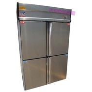 《利通餐飲設備》4門冰箱-管冷 (上凍下藏) 四門冰箱 冷凍庫 冷凍冷藏~  10