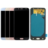 100% Super Amoled LCD Replacement Parts For Samsung Galaxy J7 Pro 2017 J730 LCD Display + Touch Screen Digitizer Assembly