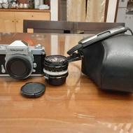 Nikon FTn 漂亮美機+ 28mm F3.5 街拍鏡