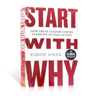 Start with Why By Simon Sinek Adult Books of Economics and Management Novels Activate Your Inspirational Leadership