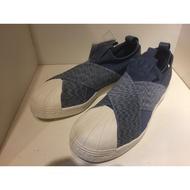Adidas uperstar lip On W 交叉綁帶 繃帶鞋 全智賢 牛仔藍 76410