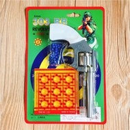 台灣製 左輪8發玩具槍 道具槍 (火藥片 20元)