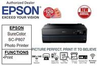Epson SureColor SC-P807 Business ,Borderless & Multi-media Professional 9-Colour photo printer ** Free $120 NTUC Voucher Till 2nd Mar 2019**  SCP807 SC P807